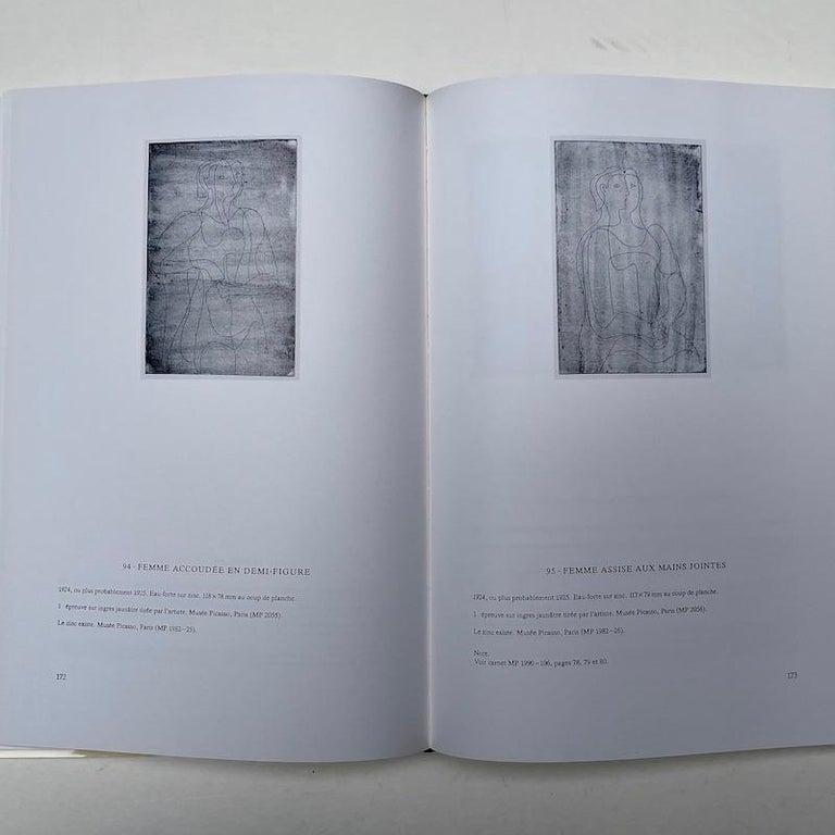 Modern Picasso Peintre-Graveur, Catalogue Raisonne, Tome 1, by Bernhard Geiser For Sale