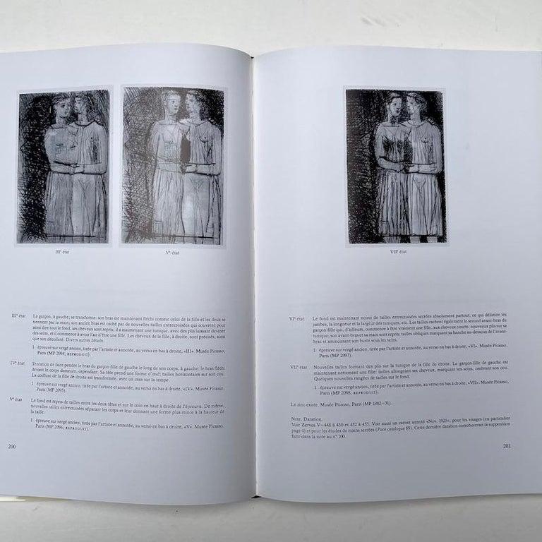 Swiss Picasso Peintre-Graveur, Catalogue Raisonne, Tome 1, by Bernhard Geiser For Sale