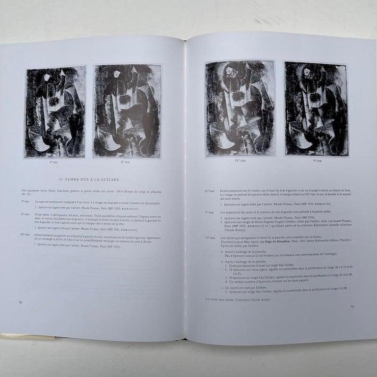 Late 20th Century Picasso Peintre-Graveur, Catalogue Raisonne, Tome 1, by Bernhard Geiser For Sale