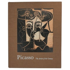 Picasso, The Artist of the Century, Library or Coffee Table Book, circa 1970s