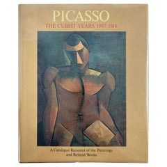Picasso The Cubist Years, 1907-1916 Hardcover Art Book
