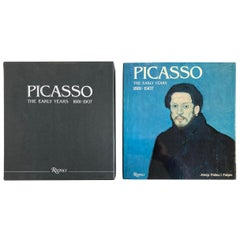 """Picasso The Early Years 1881-1907"" Art Book by Palau i Fabre"