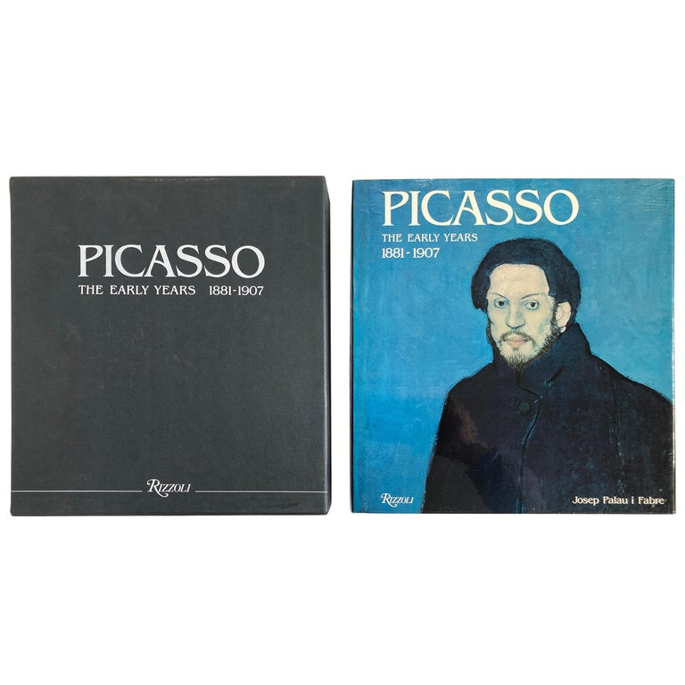 """""""Picasso The Early Years 1881-1907"""" Art Book by Palau i Fabre For Sale"""