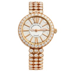 Piccadilly Duchess 33 Luxury Diamond Watch for Women, 18 Karat Rose Gold