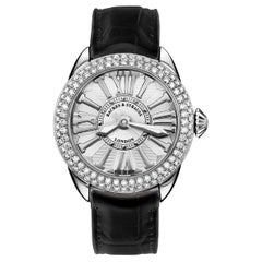 Piccadilly Steel 33 SP Luxury Diamond Watch for Women, Stainless Steel