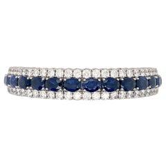 Picchiotti Sapphire and Diamond Expandable Bracelet