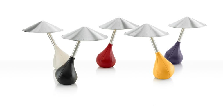 Modern Piccola Table Lamp in Black by Pablo Designs For Sale