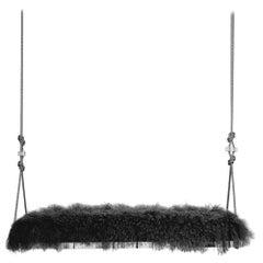 Pick-Me-Up Swinging Bench in Ebony