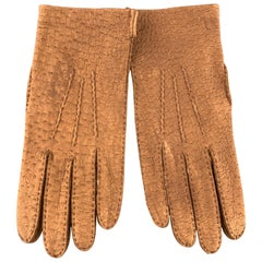 PICKETT Vintage Size 9 Tan Pigskin Leather Gloves