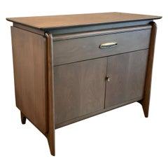 Pickled Mahogany Sideboard Cabinet by John Van Koert for Drexel
