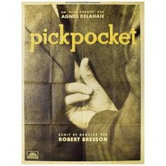 Pickpocket R1990s French Grande Film Poster