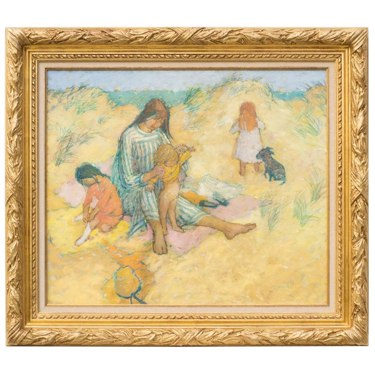"""Picnic in the Dunes"" by Jean Young For Sale"