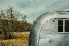 Photograph - Silver Airstream Sky, Marfa Texas