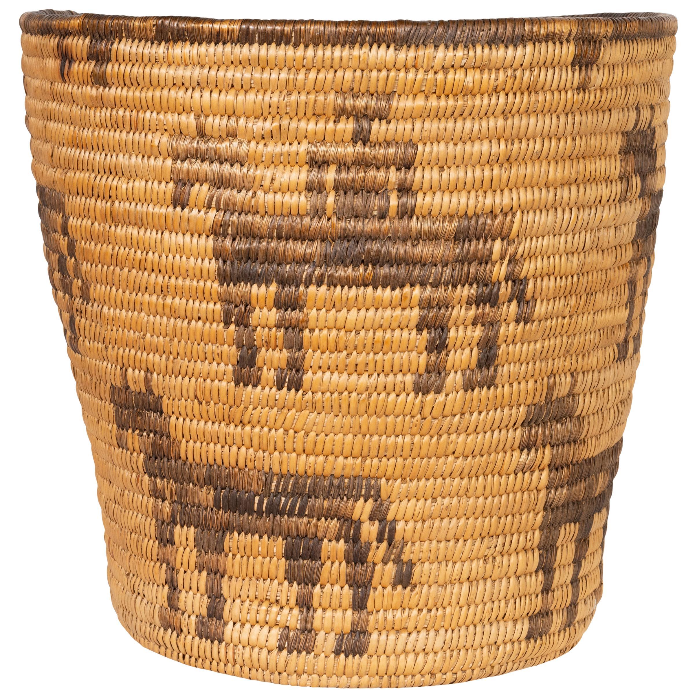 Pictorial 1920s Pima Basket