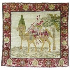 Pictorial Antique Karabagh Rug