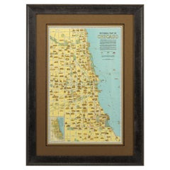 Pictorial Map of Chicago, circa 1926