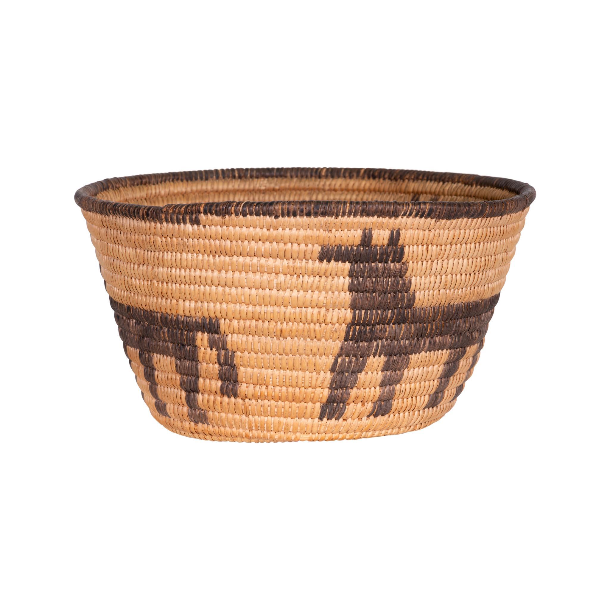 Pictorial Pima Basket