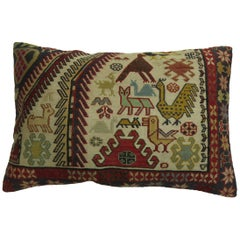 Pictorial Soumac Rug Pillow