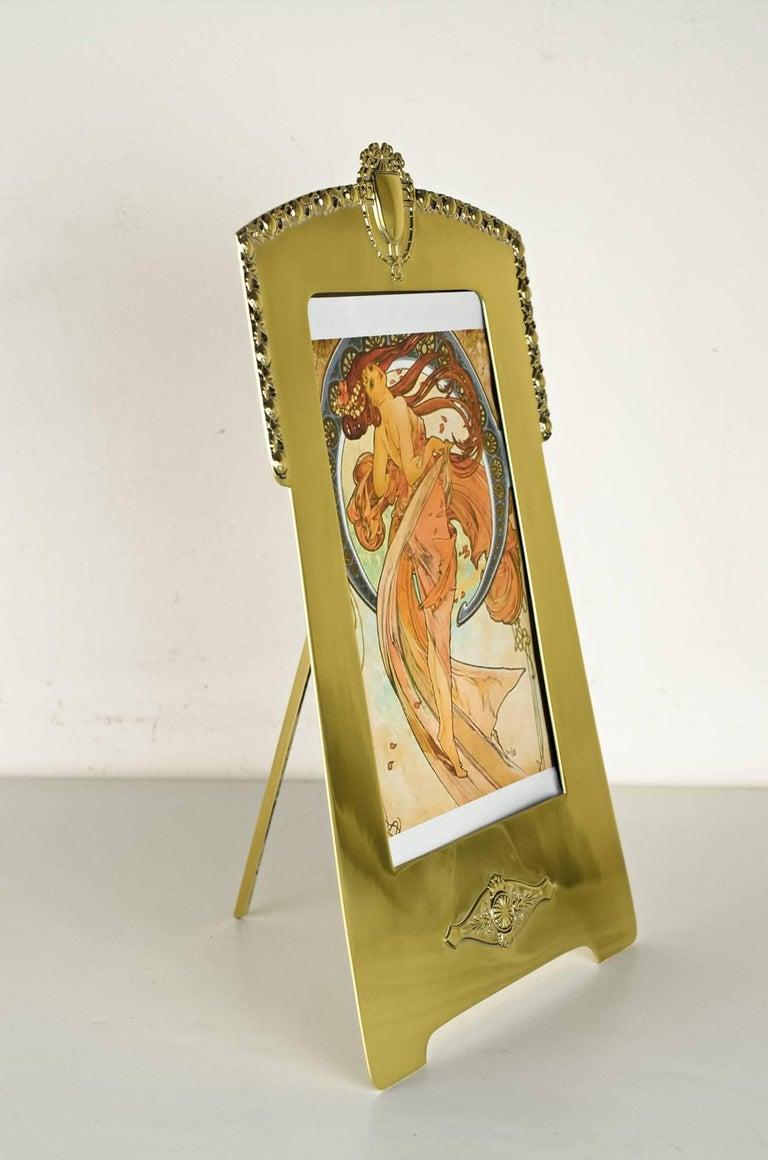 Jugendstil Picture Frame by Argentor, circa 1908 For Sale