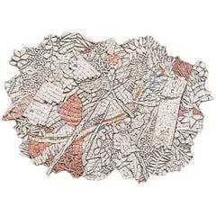 """""""Pieces in Plexus"""" Mosaic by Toyoharu Kii"""