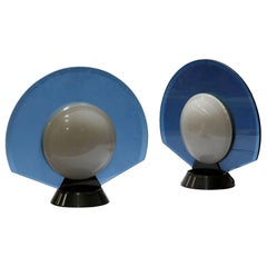 Pier Giuseppe Ramella, Tikal, Pair of Table Lamps, Arteluce, 1982