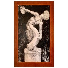 Pier Gustafson Original Art, Fountain Pen Series for Boston Pen Show