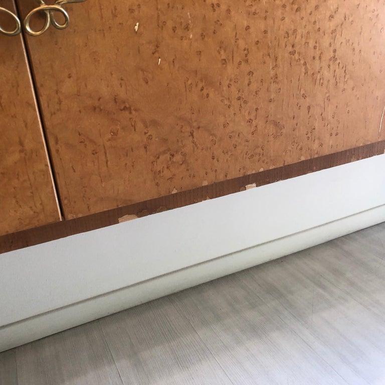 Pier Luigi Colli Mid-Century Modern Maple Wood Italian Sideboard, circa 1950 8