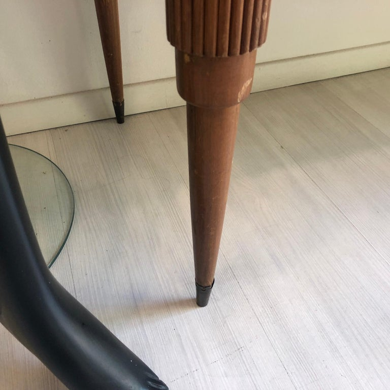 Pier Luigi Colli Mid-Century Modern Maple Wood Italian Sideboard, circa 1950 In Good Condition In Aci Castello, IT