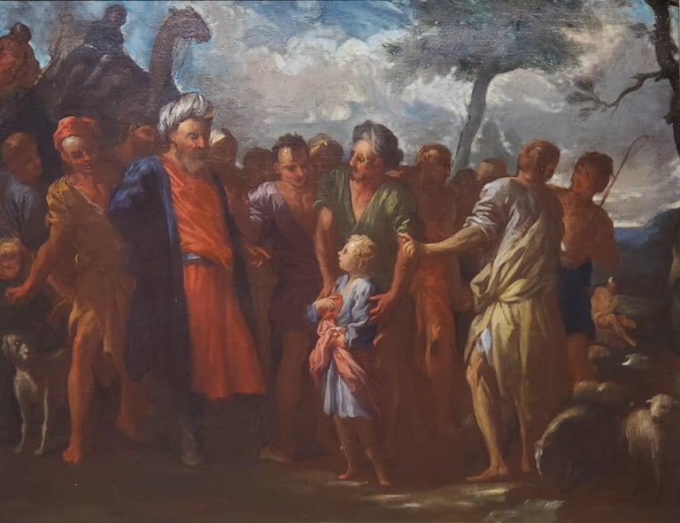 Joseph Being Sold By His Brothers - Painting by Pietro Dandini