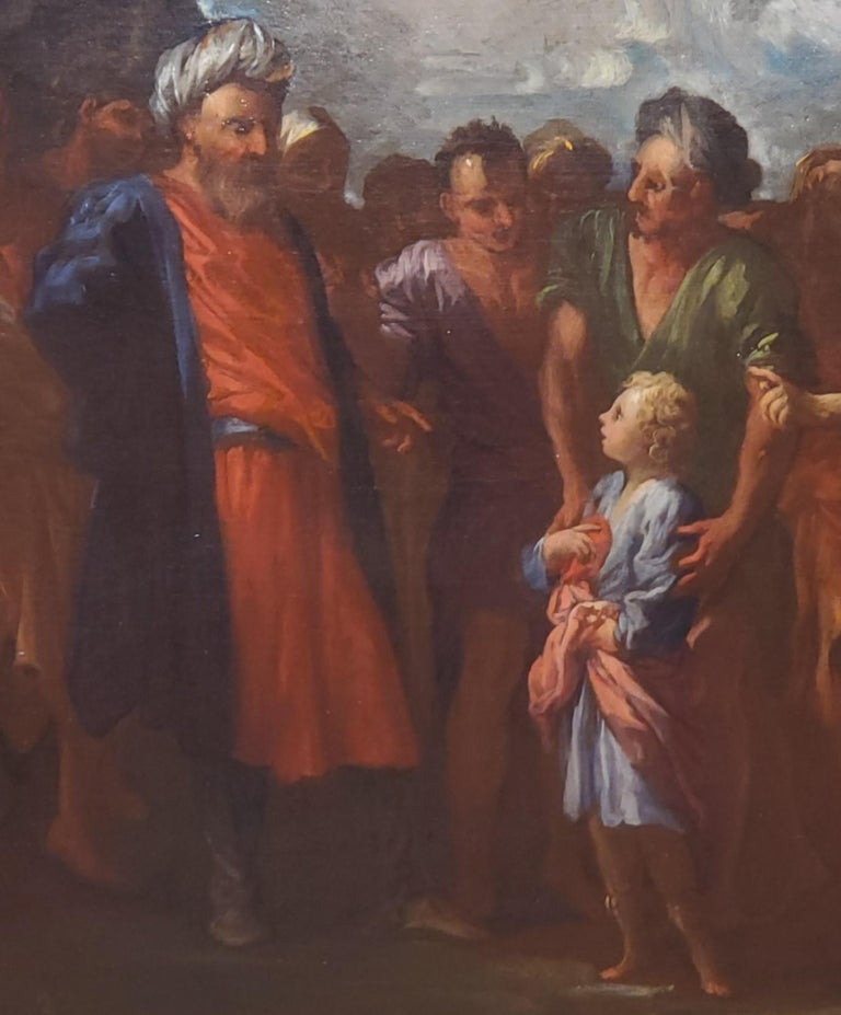 Joseph Being Sold By His Brothers - Brown Figurative Painting by Pietro Dandini