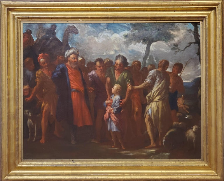 Pietro Dandini Figurative Painting - Joseph Being Sold By His Brothers