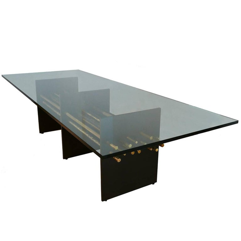 Pierce Bronze Dining Table For Sale