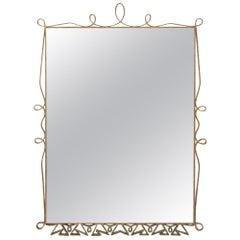 Pierluigi Colli Mirror Italian Midcentury, 1950s