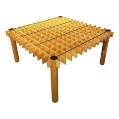 "Pierluigi Ghianda Large ""Kyoto"" Table"