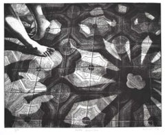Penumbra - Original Etching by Piero Cesaroni - 1994