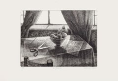 The Scissors - Original Etching by Piero Cesaroni - 2004