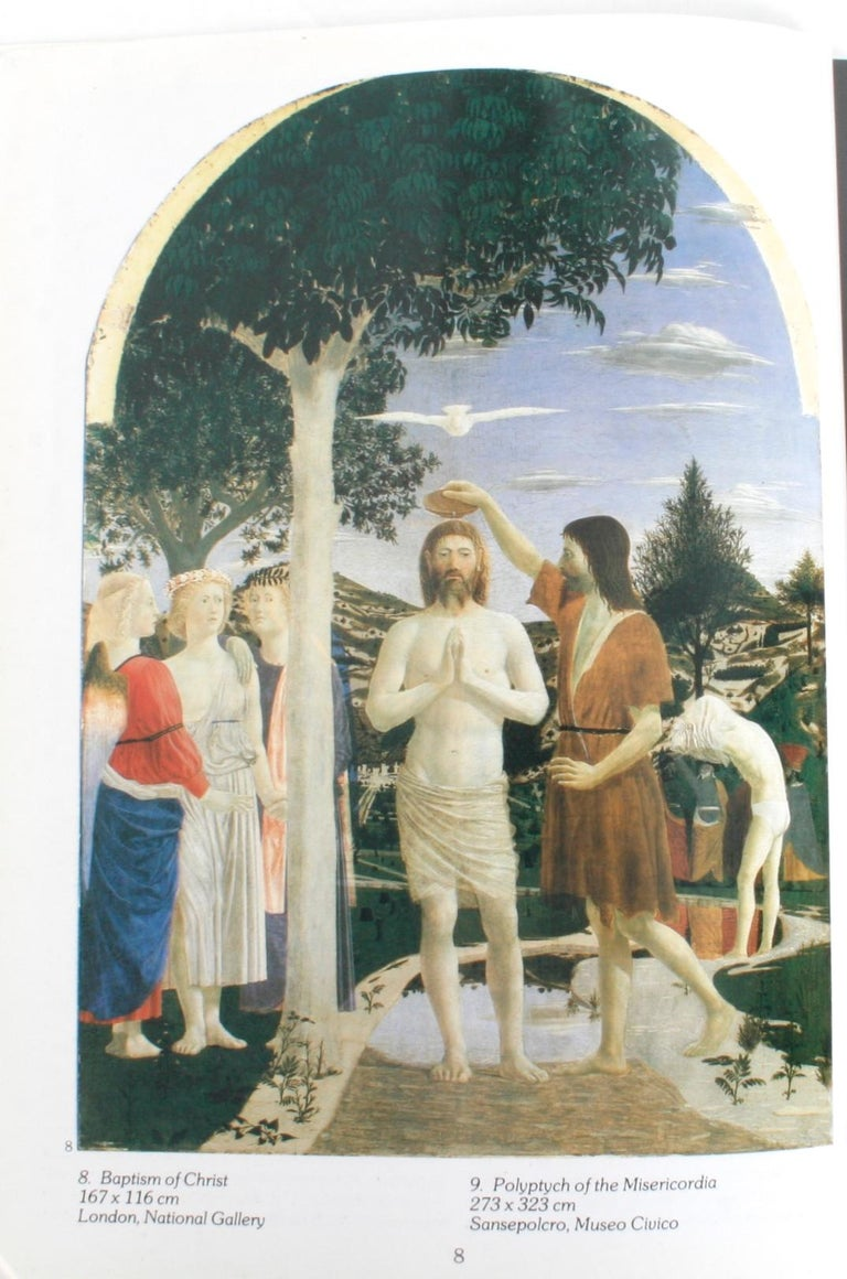 Piero Della Francesca by Alessandro Angelini. Florence: Scala, 1999. Softcover. 79 pp. A catalogue of works by the Early Renaissance painter Piero Della Francesca 1415-1492. His paintings are famous for there serene humanism, there use of geometric