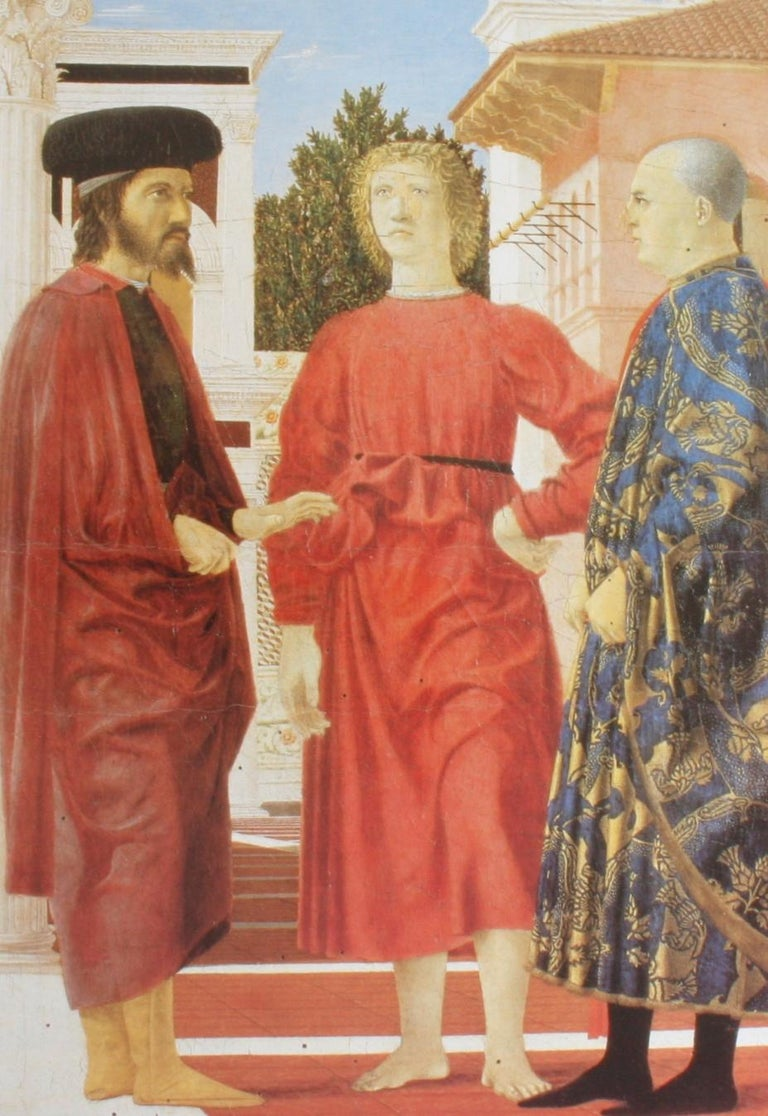 Piero Della Francesca by Alessandro Angelini In Good Condition For Sale In valatie, NY