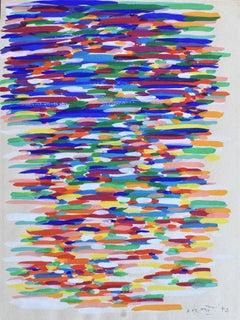 Untitled  Senza Titolo - Art Italiana, Futurismo, Post War, Tempera
