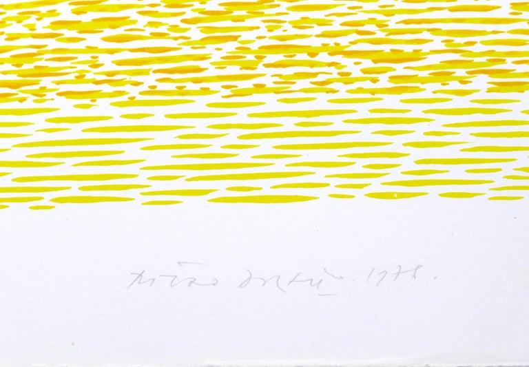 Abstract Composition - Original Lithograph by Piero Dorazio - 1978 For Sale 3