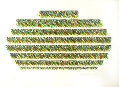 Alisei - Original Lithograph by Piero Dorazio - 1981