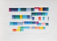 Madrigale, Abstract Aquatint by Piero Dorazio