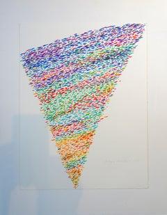 Wir Wurchsten Ein Gutes Neues Jahr - 1970s - Piero Dorazio - Lithograph