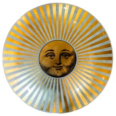 Piero Fornasetti, Wall or Ceiling Lamp, Italy, circa 1970