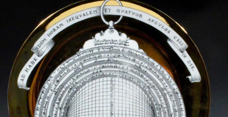 Mid-20th Century Piero Fornasetti Astrolabe Plate, Number Twelve in Astrolabio Series For Sale