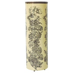Piero Fornasetti Early Flowers Umbrella Stand, Italy, 1950s