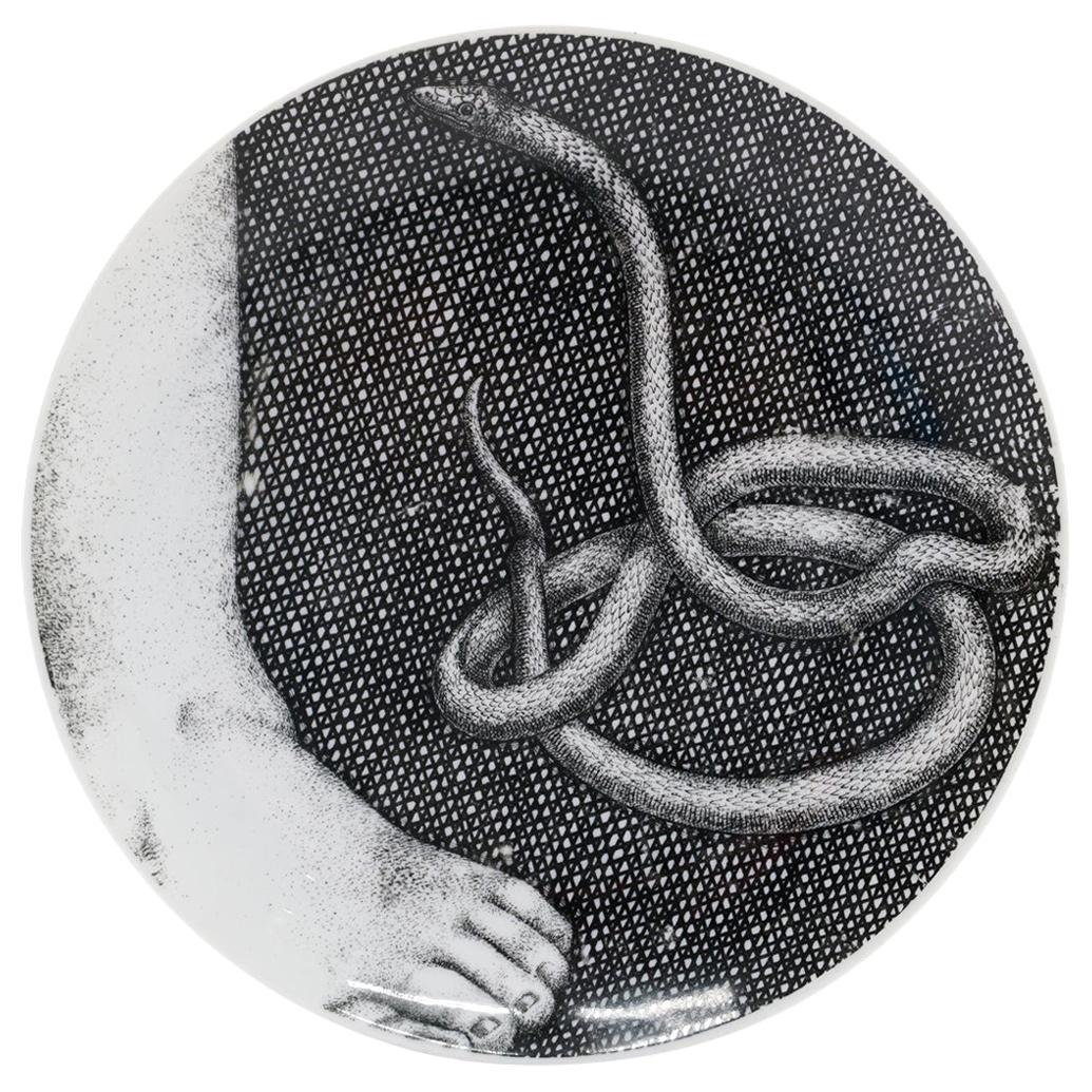 Piero Fornasetti Eva / Eve Porcelain Plate Number 2, Signed