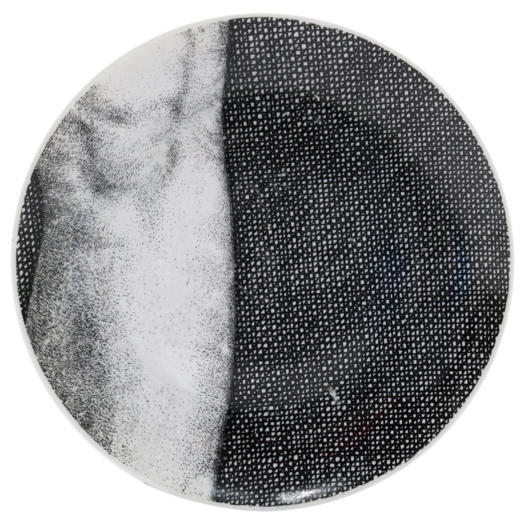 Piero Fornasetti Eva / Eve Porcelain Plate Number 4, Signed
