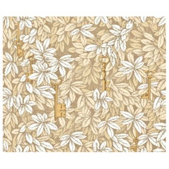Piero Fornasetti for Cole & Son II Chiavi Segrete Pale Gold Botanical Wallpaper