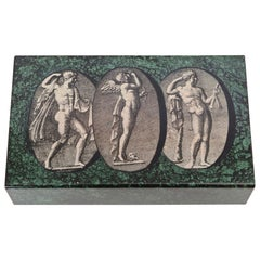 Piero Fornasetti Italian 'Classical Figures' Box, circa 1950
